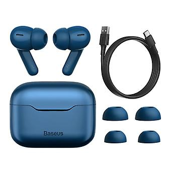 Auriculares inalámbricos Baseus S1 - ANC True Touch Control TWS Bluetooth 5.0 Auriculares Auriculares Auriculares Azul