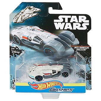 Hot wheels star wars millennium falcon carship