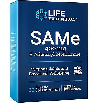 Estensione di vita SAMe S-Adenosil-Methionine 400mg Schede 60