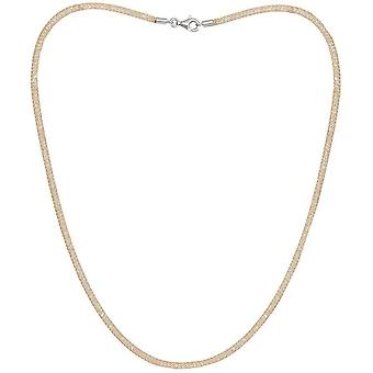 Pearls of the Orient Credo Mesh Collar Necklace - Gold