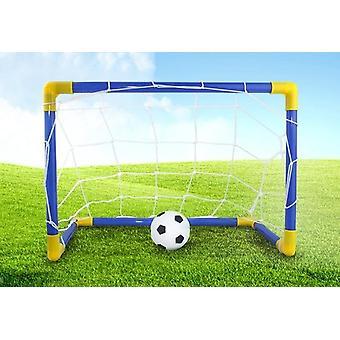 Little Kid Premium Bärbar Fotboll Mål Set / Football Play Kit