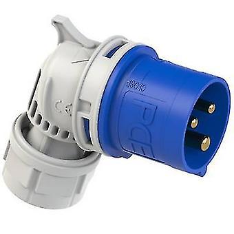 PCE 8013-6 CEE CARA rätvinklig kontakt 16 A 3-stifts 230 V 1 st