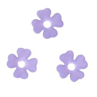Lucite Baby's Breath Små blomster Matte Lilla Light Vægt 6mm (10)
