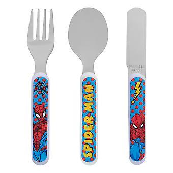 Spider-Man Pop 3 Piece Cutlery Set