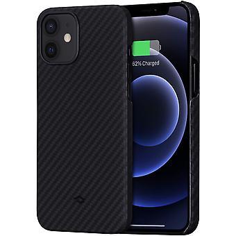 """FengChun MagEZ Case, ultradünn, magnetische Hülle für iPhone 12(6,1"""") Handyhülle aus Aramidfaser,"""