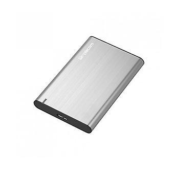 Simplecom Se211 Aluminium Slim Sata To Usb Hdd Enclosure