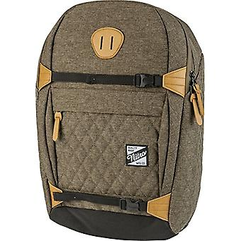 Nitro NYC Casual Backpack, 44 cm, 24 liters, Burnt Olive
