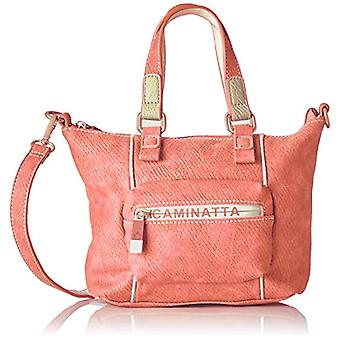 Woman's Caminatta S1003 Bag Red Size: 7x19x27 cm (W x H x L)