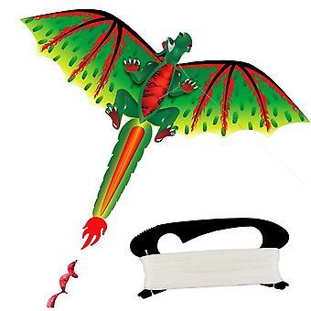 Çocuklar 3d Dinozor Uçurtma, Uçan Oyun, Oyuncak Oynayan Açık Hava Spor, Bahçe Bezi,