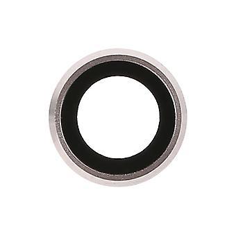 غطاء زجاجي لعدسة الكاميرا الخلفية مع حامل الإطار المعدني