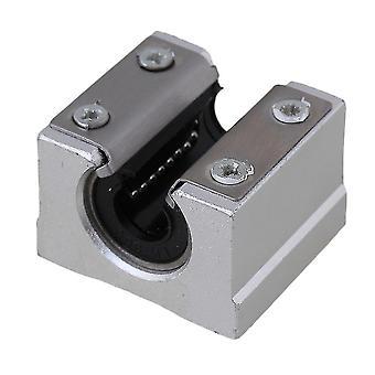 36x32x25mmシルバー&ブラックオープンリニアスライド用10mmリニアレール用 WS1367