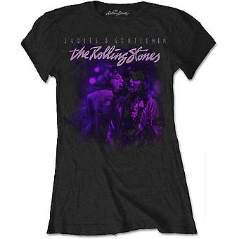 The Rolling Stones - Mick & Keith Together Women's Medium T-Shirt - Black
