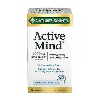 Naturens Bounty Active Mind, 24 X 60 Caps