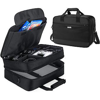 Wokex Reisetasche kompatibel mit PS4 / PS4 PRO / XBOX 360 / XBOX ONE / XBOX SERIES S Spielkonsole