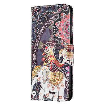Xiaomi Redmi Note 10 5g Case Pattern Magnetic Protective Cover Totem Elephant