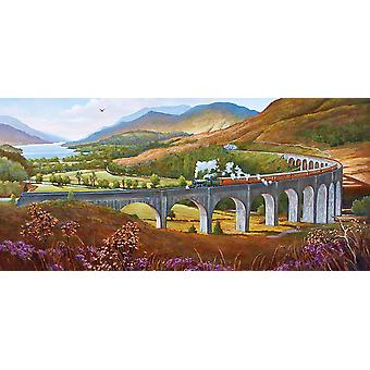 Gibsons Glenfinnan viadukt pussel (636 stycken)