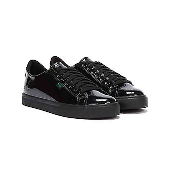 Kickers Tovni Lacer Youth Black Patent Shoes
