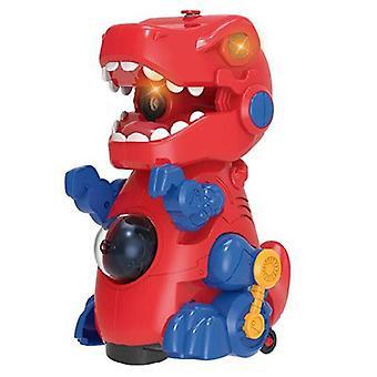 Electric Dinosaur Bubble Machine Music Lighting Toys Automatic Bubble Blower Toy|Bubbles
