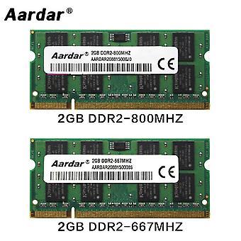 800mhz Memoria Ddr2 Rams pour ordinateur portable