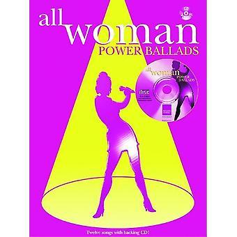 All Woman. Power Ballads (PVG/CD)