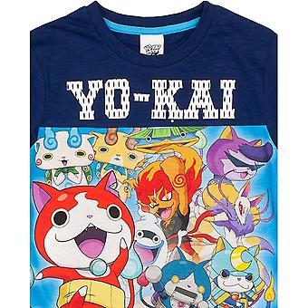 Yo-Kai Watch Boys Panel T-Shirt