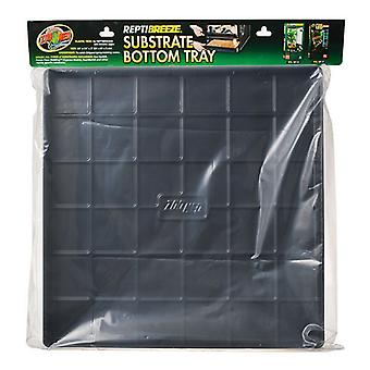 """Zoo Med ReptiBreeze Substrate Bottom Tray - Plateau pour NT13 & NT17 - (24""""L x 24""""L x 2""""H)"""