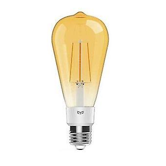 Yeelight yldp23yl 6w e27 st64 smart led filament bulb work with apple homekit ac220-240v (xiaomi ecosystem product)