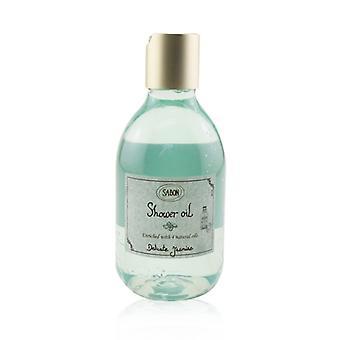 Sabon Shower Oil - Delicate Jasmine (Plastic Bottle) 300ml/10.1oz