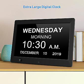 "Digital cameras 10.5"" Hd photo picture frame clock mp4 movie player+remote control"