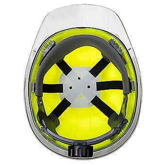 Portwest Mens Skyview Safety Helmet Yellow One Size Yellow