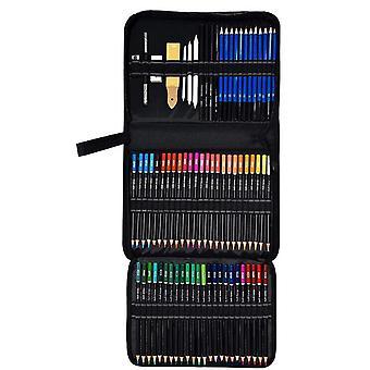 95 Pcs Drawing Art Supplies Set - Colored Drawing Pencils Set