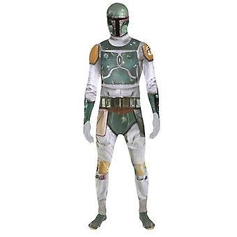 Star Wars Boba Fett volwassen Unisex Zapper Cosplay kostuum digitale Morphsuit - Large - Multi kleur (MLZBFL-L)