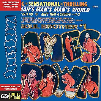 James Brown - It's Man's Man's Man's World [CD] USA import