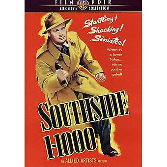 Southside 1-1000 (1950) [DVD] USA importerer