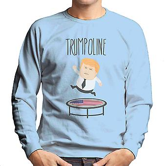 Trumpoline Donald Trump Republican Candidate Men's Sweatshirt
