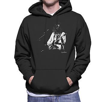Neil Young Manchester Palace 1973 Männer die Kapuzen-Sweatshirt