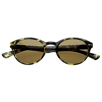 Premium petite armature P-3 clés trou ronds lunettes de soleil