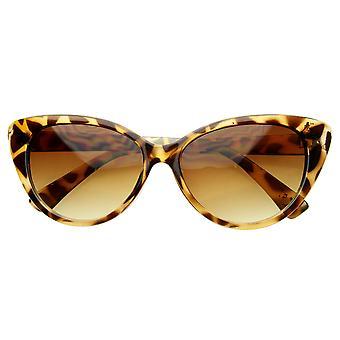 Super Cat Eye Sonnenbrille Fashion Damen Übergröße Cateyes