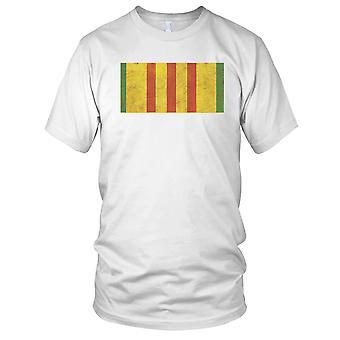 Vietnam-Krieg-Medaille Grunge Effekt Damen T Shirt