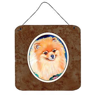 Carolines Treasures  7165DS66 Pomeranian Wall or Door Hanging Prints