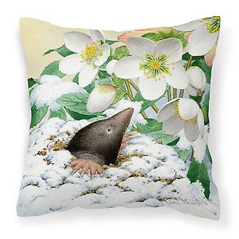 Carolines Treasures  ASAD0387PW1818 Mole by Sarah Adams Canvas Decorative Pillow