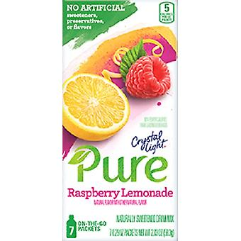Kristal licht Pure Raspberry limonade drinken Mix 2 vak Pack
