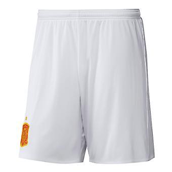 2016-2017年スペイン離れてアディダス サッカー ショート パンツ (ホワイト)
