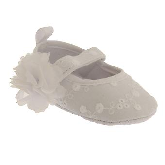 Nursery Time Baby Girls Floral Baby Shoes