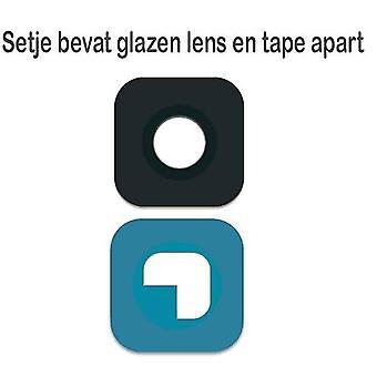 För Samsung S6/S6 Edge kamera objektiv glas-svart
