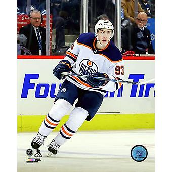 Ryan Nugent-Hopkins 2017-18 Action Photo Print
