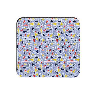 Melamaster Fragments Square Moulded Coaster