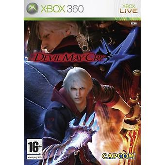 Devil May Cry 4 (Xbox 360)-fabriks forseglet