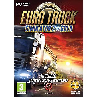 Euro Truck Simulator 2 guld (PC CD)-ny