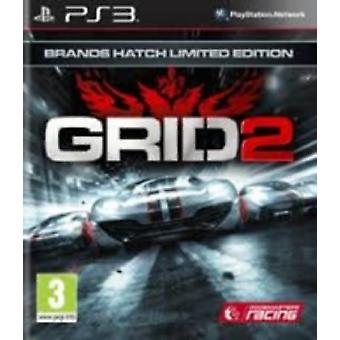 Grid 2 Brands Hatch Limited Edition PS3 - Uusi